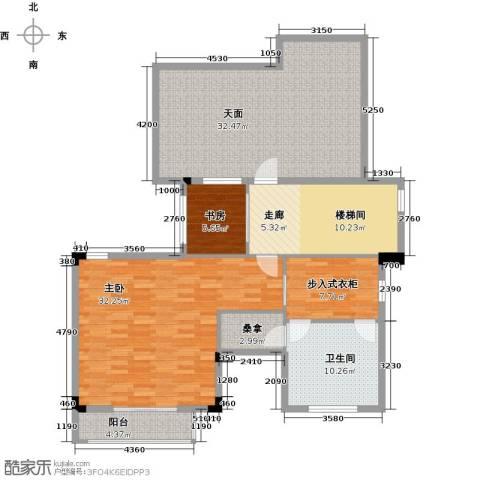 富盈公馆2室0厅1卫0厨151.00㎡户型图