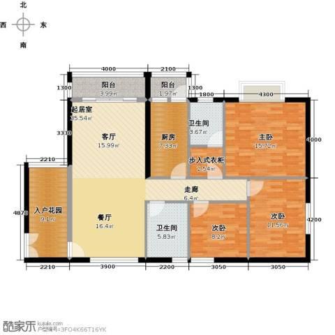 御东和府3室0厅2卫1厨144.00㎡户型图