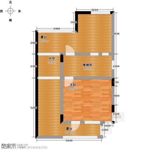保利生态城1室0厅0卫0厨83.00㎡户型图