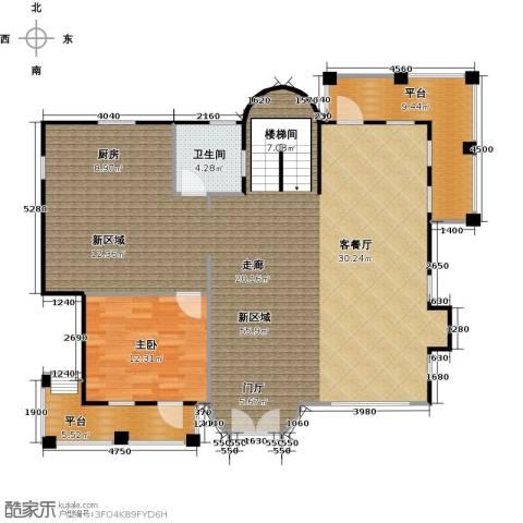 天恒别墅山1室0厅1卫0厨114.31㎡户型图