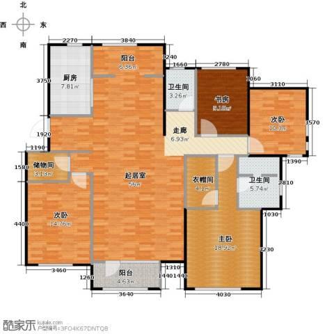 顶秀美泉小镇4室0厅2卫1厨158.00㎡户型图
