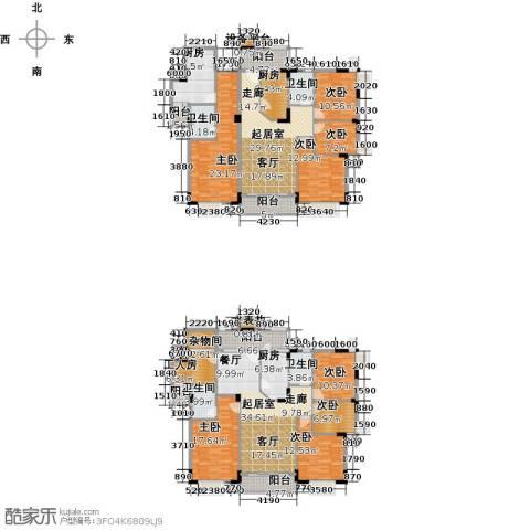 三正世纪豪庭8室0厅4卫3厨338.00㎡户型图
