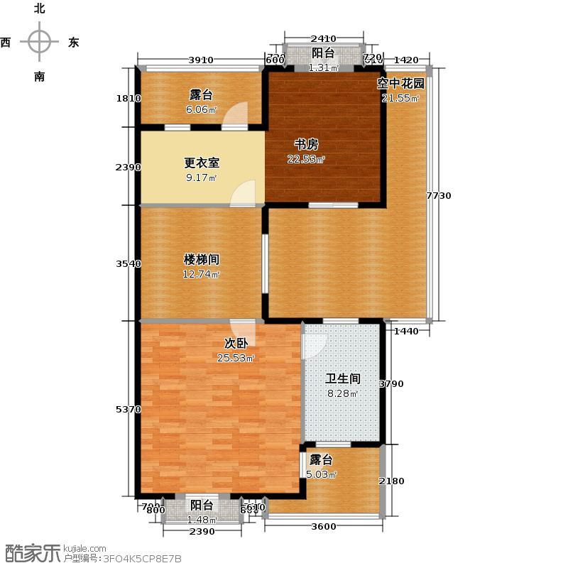 柳溪美庐115.27㎡hx-lxml-lianpai-c4-max户型2室1卫