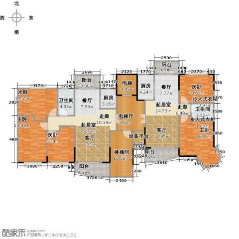 黄旗山1号5室0厅2卫2厨232.00㎡户型图