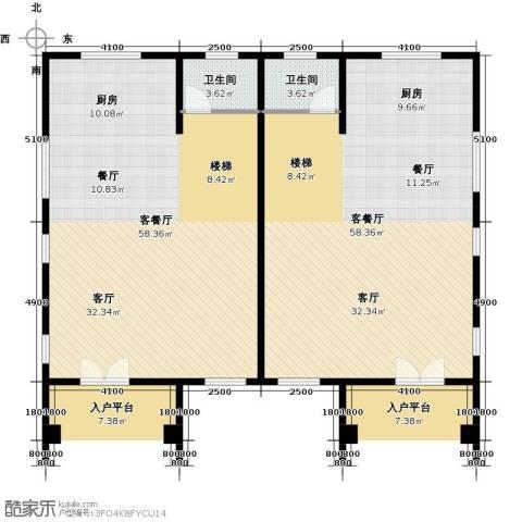 海琴湾2厅2卫0厨165.00㎡户型图