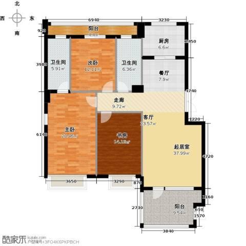 商博东城印象131.00㎡户型图