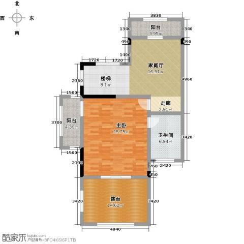 天保美墅林1室0厅1卫0厨438.00㎡户型图