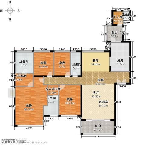 长隆珑翠4室0厅4卫1厨250.00㎡户型图