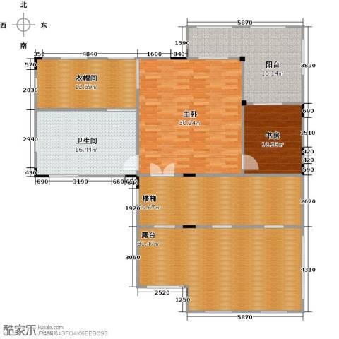 皇庭壹�公馆2室0厅1卫0厨181.00㎡户型图
