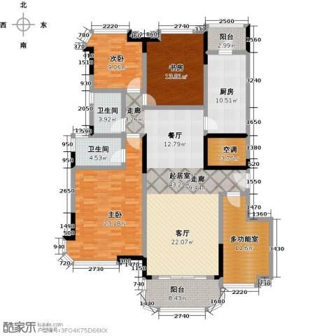 广州碧桂园莲山首府3室0厅2卫1厨167.00㎡户型图