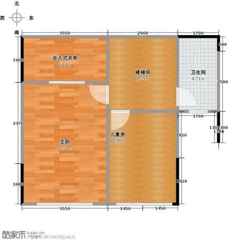 海伦春天2室0厅1卫0厨92.00㎡户型图