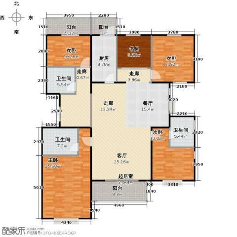 瑞雪春堂5室0厅3卫1厨194.00㎡户型图