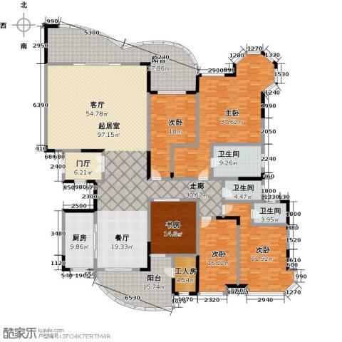 广州碧桂园莲山首府5室0厅3卫1厨333.00㎡户型图