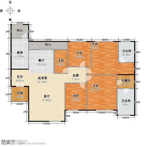 莲湖四季豪园5室0厅2卫1厨249.00㎡户型图