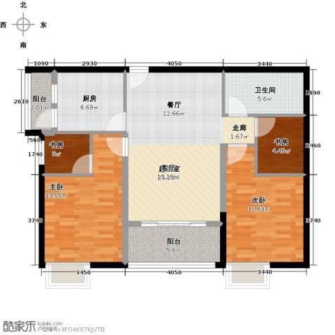 穗和城4室0厅1卫1厨90.00㎡户型图