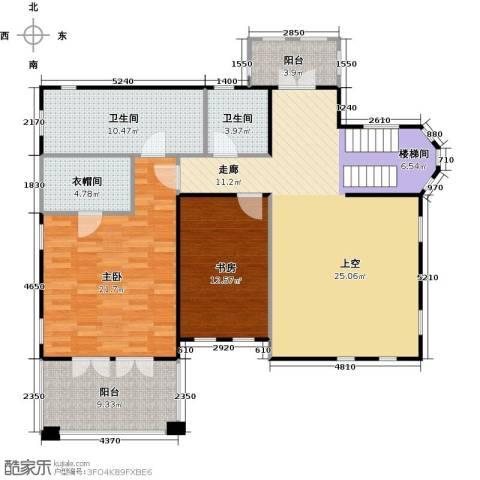 天恒别墅山2室0厅2卫0厨107.27㎡户型图