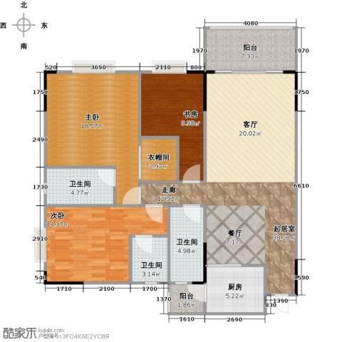 翠景湾3室0厅3卫1厨120.13㎡户型图
