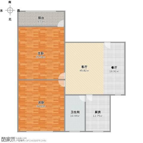 成山小区2室1厅1卫1厨196.00㎡户型图