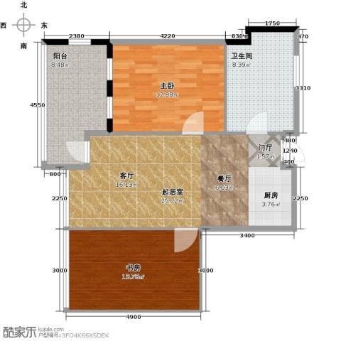 雅居乐城南源著2室0厅1卫0厨84.00㎡户型图