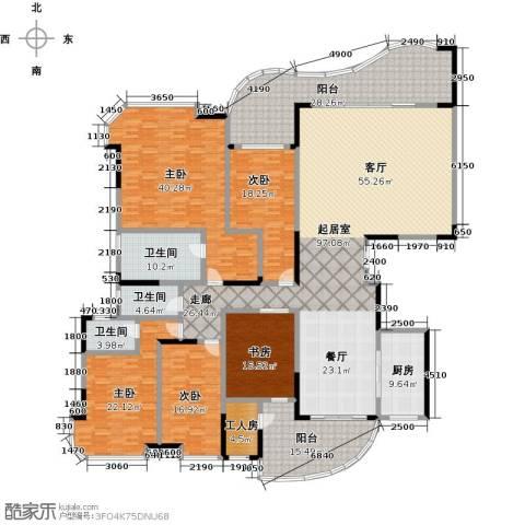 广州碧桂园莲山首府5室0厅3卫1厨326.00㎡户型图