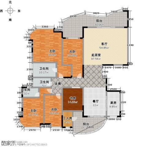 广州碧桂园莲山首府5室0厅3卫1厨330.00㎡户型图