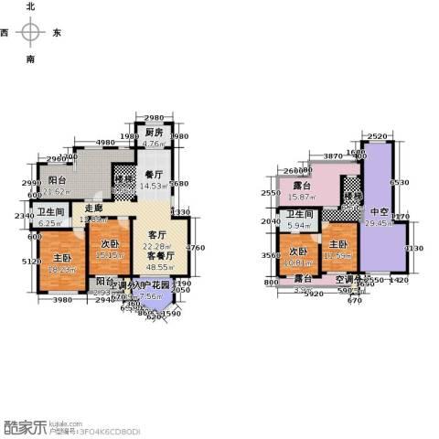 信达尚城4室1厅2卫1厨210.89㎡户型图