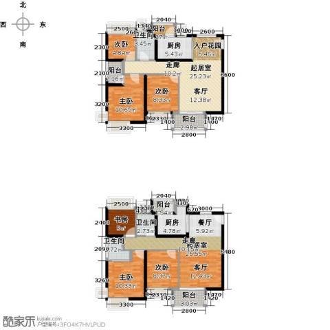 宝翠苑6室0厅3卫2厨187.00㎡户型图