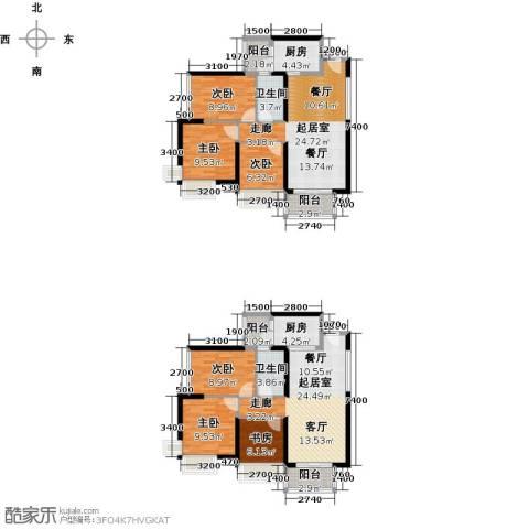 宝翠苑6室0厅2卫2厨181.00㎡户型图