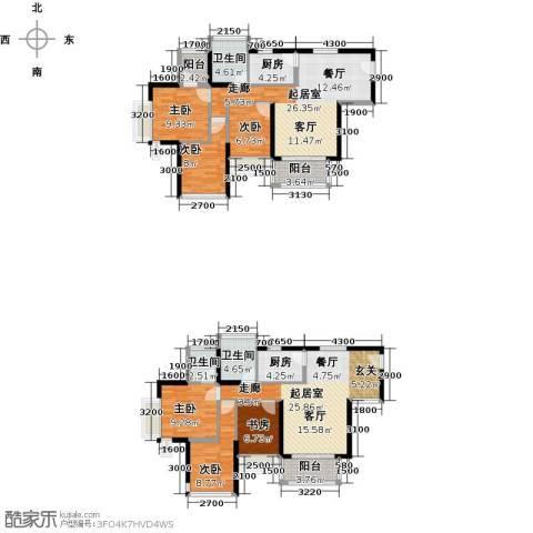宝翠苑6室0厅3卫2厨190.00㎡户型图