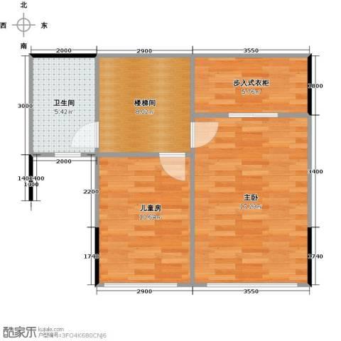 海伦春天2室0厅1卫0厨91.00㎡户型图