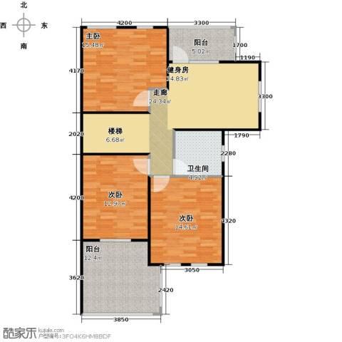 南京绿野仙踪3室0厅1卫0厨120.00㎡户型图
