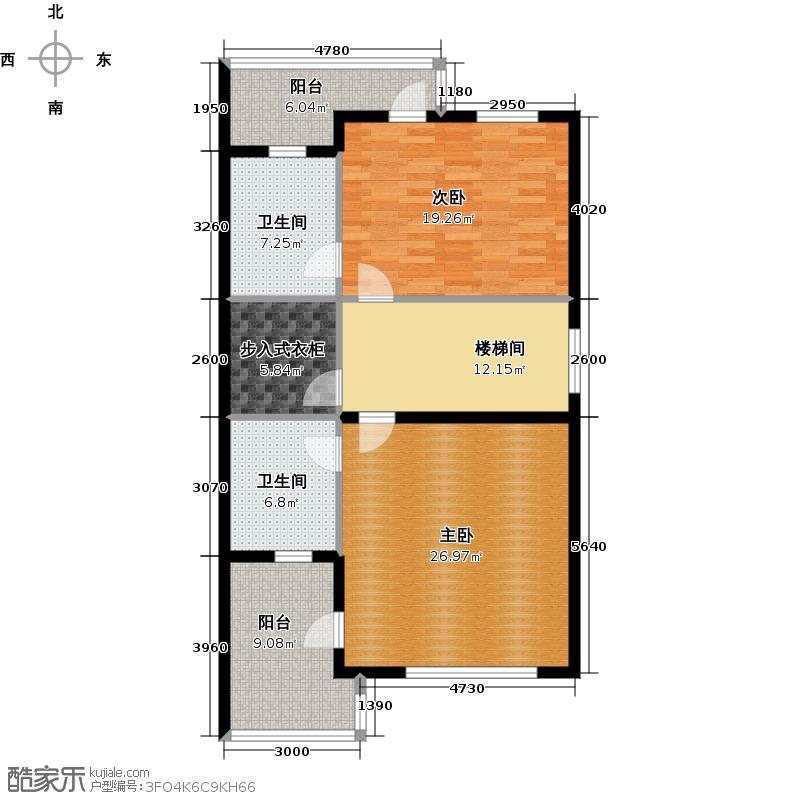 三盛颐景御园184.00㎡22号楼C二层户型10室