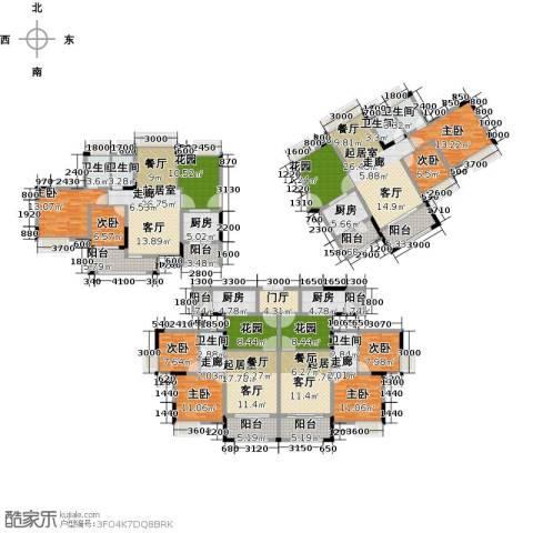 远洋城天祺8室0厅6卫4厨407.00㎡户型图