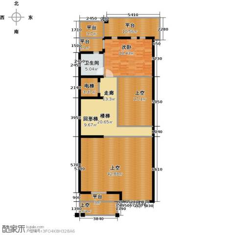 京基・鹭府1室0厅1卫0厨420.00㎡户型图