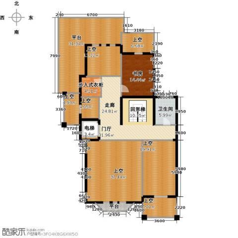 京基・鹭府1室0厅1卫0厨520.00㎡户型图