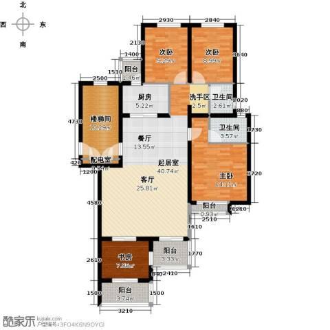 珑�庭4室0厅2卫1厨130.00㎡户型图