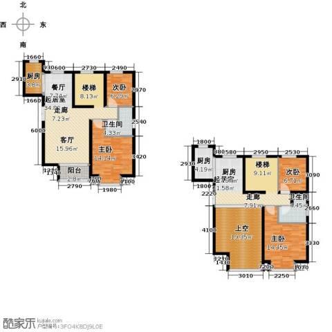 首开・国风美仑4室0厅2卫2厨158.00㎡户型图