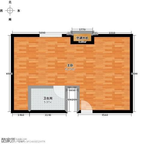贵贤上品1室0厅1卫0厨66.00㎡户型图