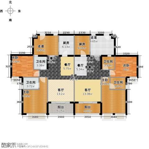 天御4室2厅4卫2厨221.00㎡户型图