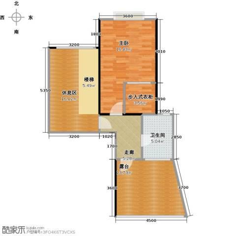 天景雨山前三期1室0厅1卫0厨163.00㎡户型图