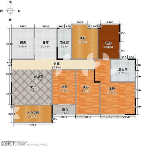 睿山5室0厅2卫1厨200.00㎡户型图