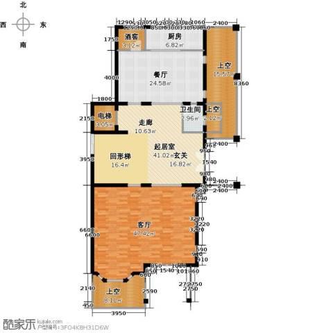 京基・鹭府2厅1卫1厨470.00㎡户型图