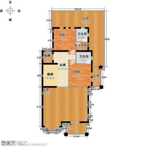 京基・鹭府2室0厅2卫0厨470.00㎡户型图