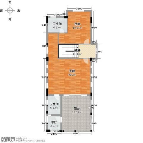 合正东部湾2室0厅2卫0厨147.00㎡户型图