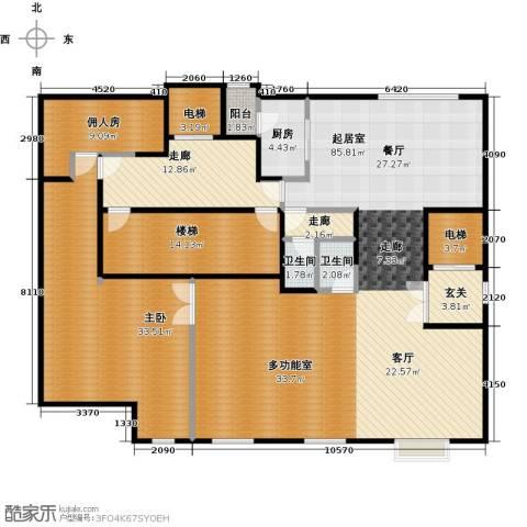 万通华府1室0厅2卫1厨508.00㎡户型图