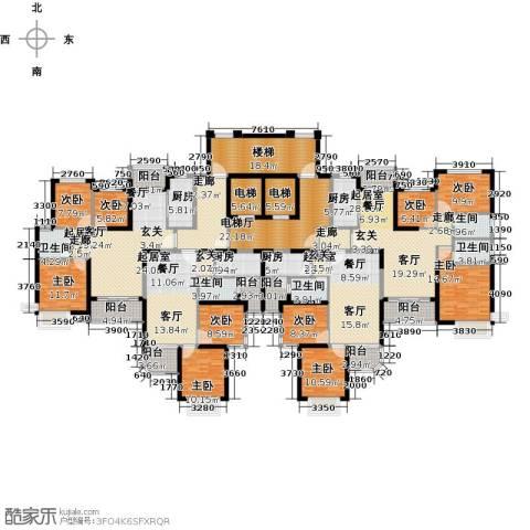 恒大海上夏威夷9室0厅5卫4厨488.00㎡户型图