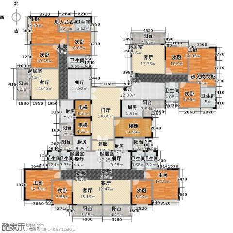 金竹家园9室0厅8卫4厨527.00㎡户型图