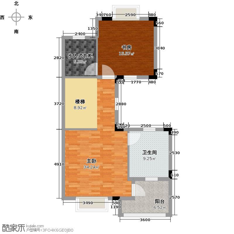 大华西溪风情318.00㎡C四层户型10室