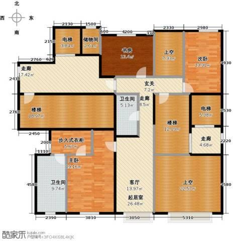 万通华府3室0厅2卫0厨261.00㎡户型图