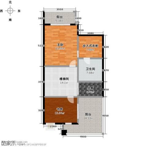 丰泰观山碧水二期2室0厅1卫0厨332.00㎡户型图